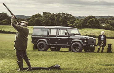 Game Shooting 4x4 Hire